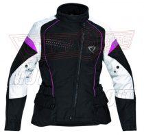 Kabát DIFI Grace szürke/pink női