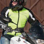 Láthatósági motoros ruházat