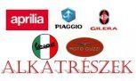 APRILIA - PIAGGIO - GILERA - VESPA - MOTO GUZZI - GYÁRI alkatrészek