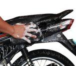Motorkerékpár tisztítás, ápolás