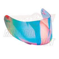 Bukósisak-plexi AGV GT2 szivárvány