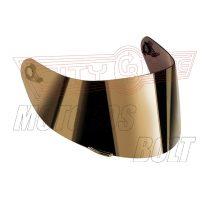 Bukósisak-plexi AGV GT2 tükrös arany