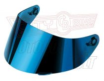 Bukósisak-plexi AGV GT2 tükrös kék