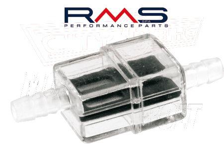 Benzinszűrő benzincsőbe 7mm (RMS) kocka