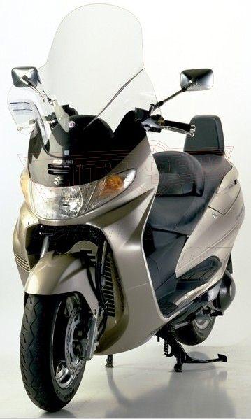 Plexi-szélvédő Suzuki Burgman 400 F.Fabbri  - TARTÓVAL