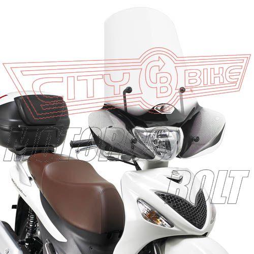 Plexi-szélvédő Suzuki Sixten 125-150 (08-14) GIVI