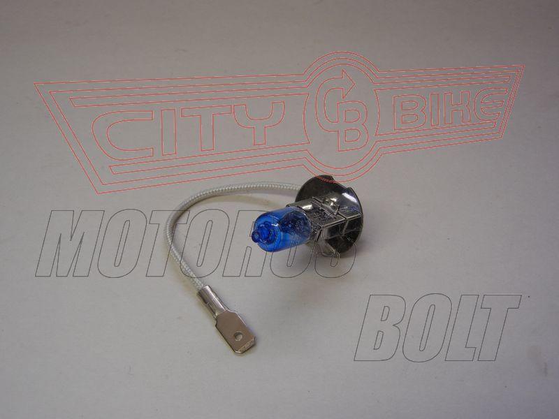 Izzó 12V 55W H3 kék RMS