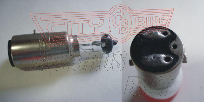 Izzó 12V 35/35W BA20D halogén fehér RMS