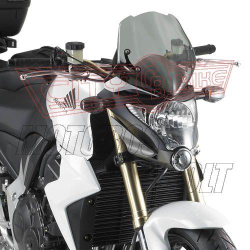 Plexi-szélvédő Suzuki GSR 600 (06-11) / Honda CB 1000 R (08-14) / KTM DUKE 125-200-390 (11-14) GIVI