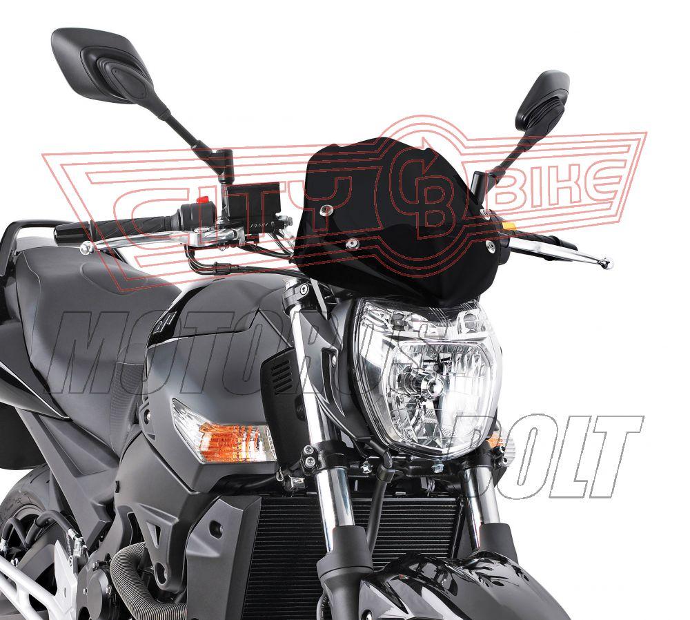 Plexi-szélvédő Ducati Streetfighter 848-1098 (09-14) / Honda CB 1000 R (08-14) / Kawasaki ER-6N / ER-6F 650 (09-11) / Suzuki GSR 600 (06-11) / KTM DUKE 125-200-390 (11-14) GIVI