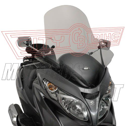Plexi-szélvédő Suzuki Burgman 400 K7-K8-K9-L0-L1-L2-L3 (06-13) GIVI