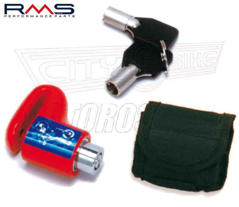Tárcsafékzár RMS MICRO 6mm csap, 50mm ház + táska