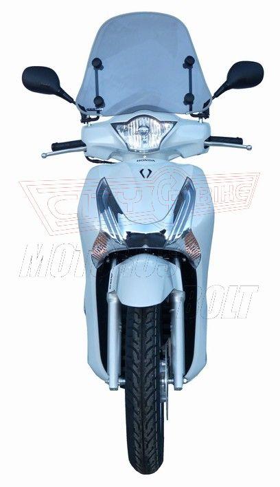 Plexi-szélvédő Honda SH125i/150i F.Fabbri füst  - TARTÓVAL