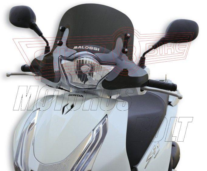 Plexi-szélvédő Honda SH 125 ABS MALOSSI erősen sötétített