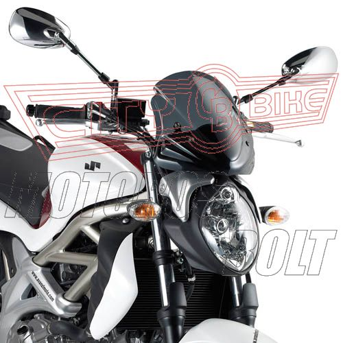 Plexi-szélvédő Suzuki Gladius 650 (09-14) GIVI