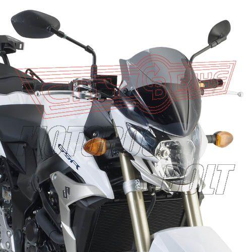 Plexi-szélvédő Suzuki GSR 750 (11-14) GIVI