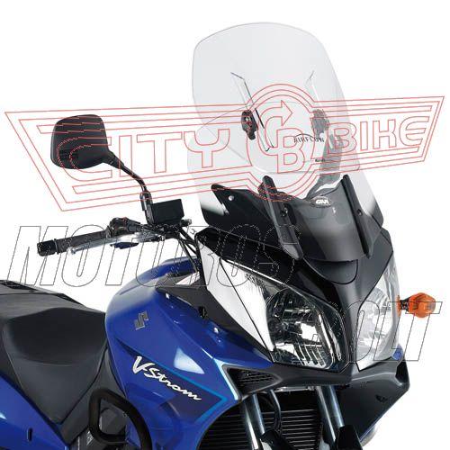 Plexi-szélvédő állítható Kawasaki KLV 1000 (04-10) / Suzuki DL 650 V-Strom (04-11) / Suzuki DL 1000 V-Strom (02-11) GIVI