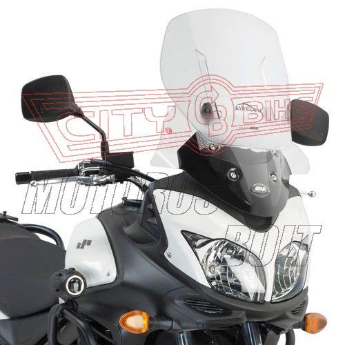 Plexi-szélvédő állítható Suzuki DL 650 V-Strom L2-L3 (11-13) GIVI