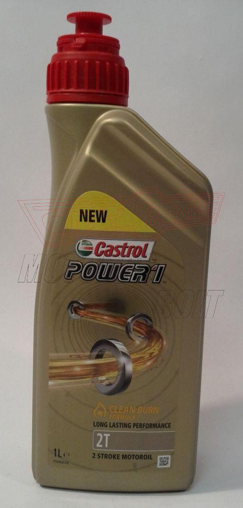 Castrol POWER 1  2T (1lit) új    JT*