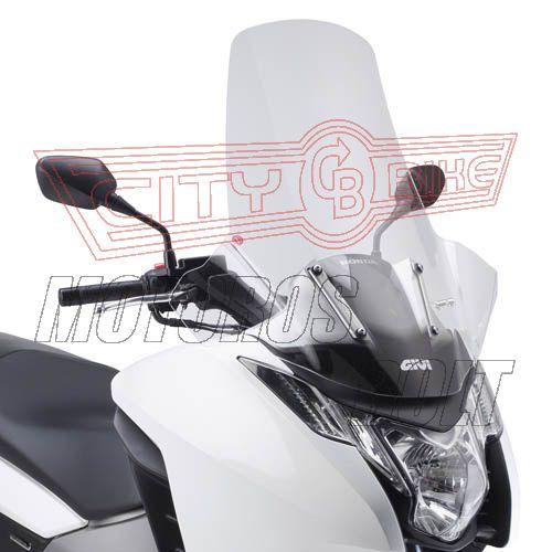 Plexi-szélvédő Honda Integra 700 (12-13) GIVI