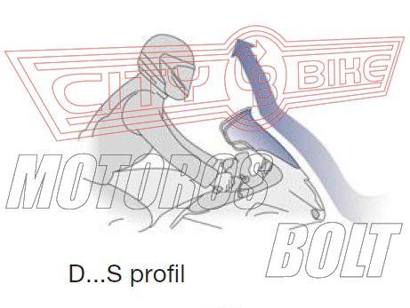 Plexi-szélvédő Honda Africa Twin 750 (96-02) GIVI
