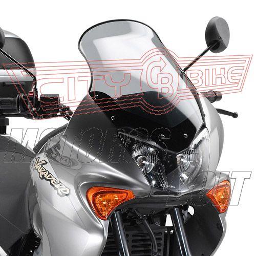 Plexi-szélvédő Honda XL 125V Varadero (01-06) GIVI