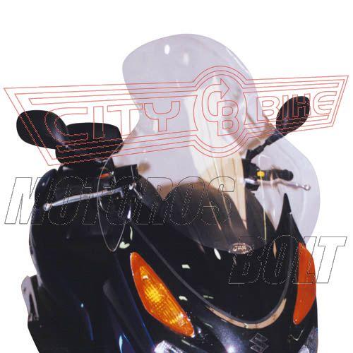 Plexi-szélvédő Suzuki UH 125-150 Burgman (02-06) GIVI