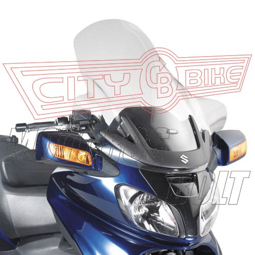 Plexi-szélvédő Suzuki AN 650 Burgman Executive (02-04) GIVI