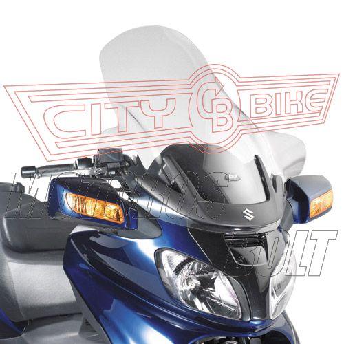 Plexi-szélvédő Suzuki AN 650 Burgman Executive (02-12) GIVI