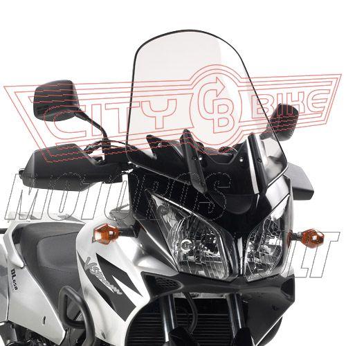 Plexi-szélvédő Kawasaki KLV 1000 (04-10) / Suzuki DL 650 V-Strom (04-11) / Suzuki DL 1000 V-Strom (02-11) GIVI