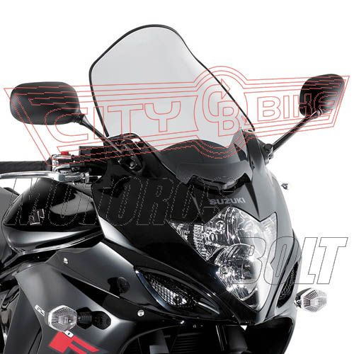 Plexi-szélvédő Suzuki GSX 650F (08-13) / GSX 1250F (10-13) GIVI