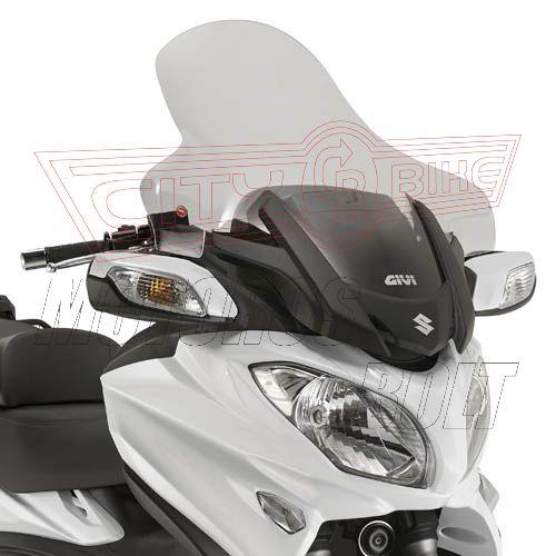 Plexi-szélvédő SUZUKI BURGMAN 650 /650 EXECUTIVE (13-14) GIVI