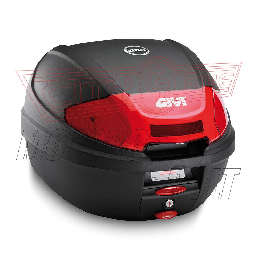Csomagtartó doboz GIVI E300N2 Topcase Fekete