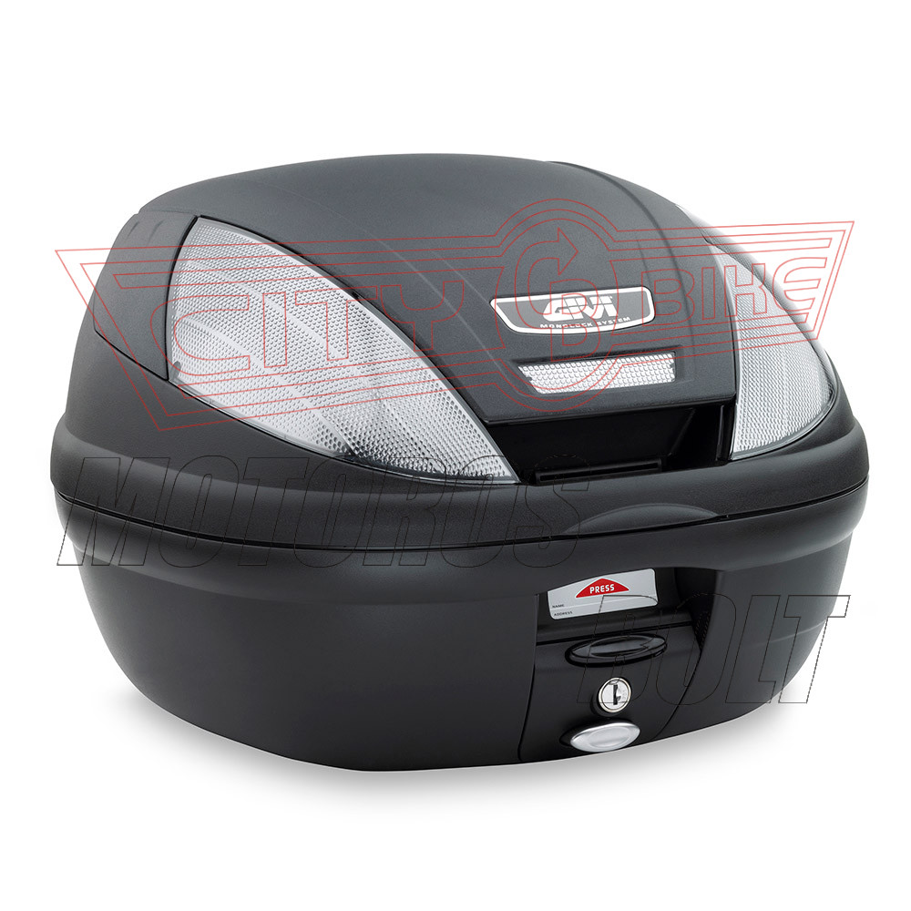 Csomagtartó doboz GIVI E370NT Fekete