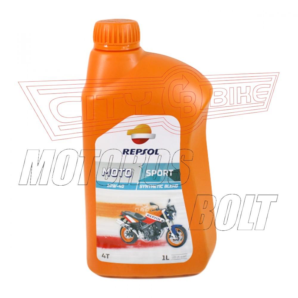REPSOL Moto Sport 4T 10W-40  1L    JT*