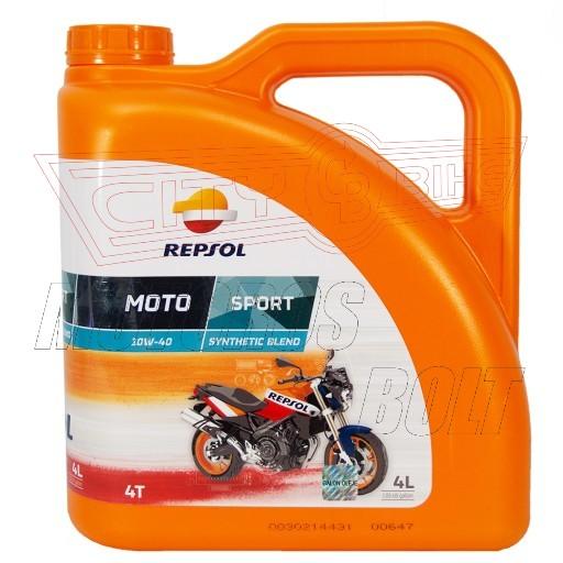 REPSOL Moto Sport 4T 10W-40  4L kanna    JT*