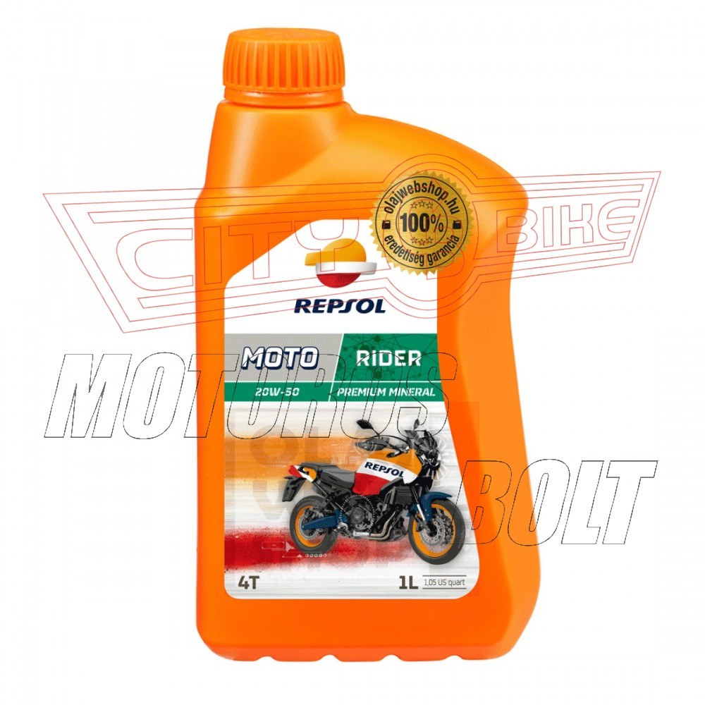 REPSOL Moto Rider 4T 20W-50  1L    JT*