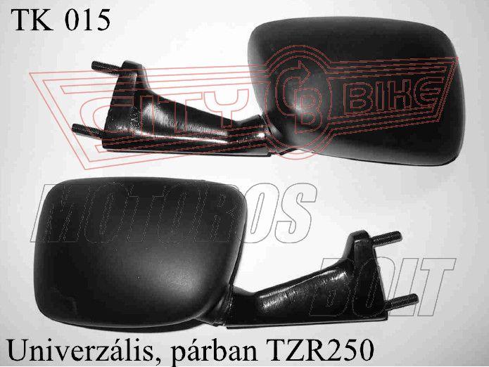 Tükör TK-15 téglalap TZR 250 (pár)