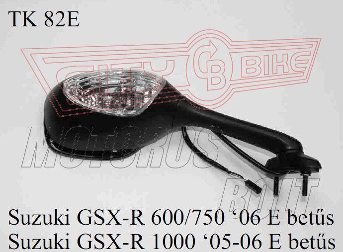Tükör TK-82E Suzuki GSX-R 600/750/1000 E-betűs(db)