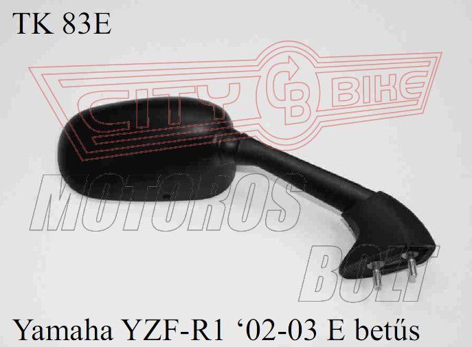 Tükör TK-83E Yamaha YZF-R1 02-03 E-betűs (db)