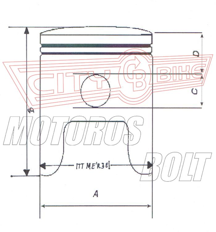 Dugattyú szett Suzuki DRZ 400 00-09 89,96-89,98