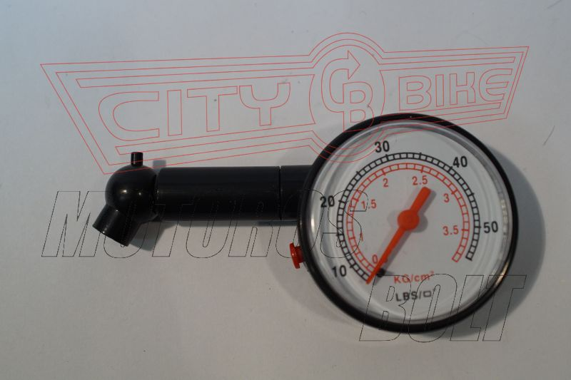 Guminyomásmérő mutatós